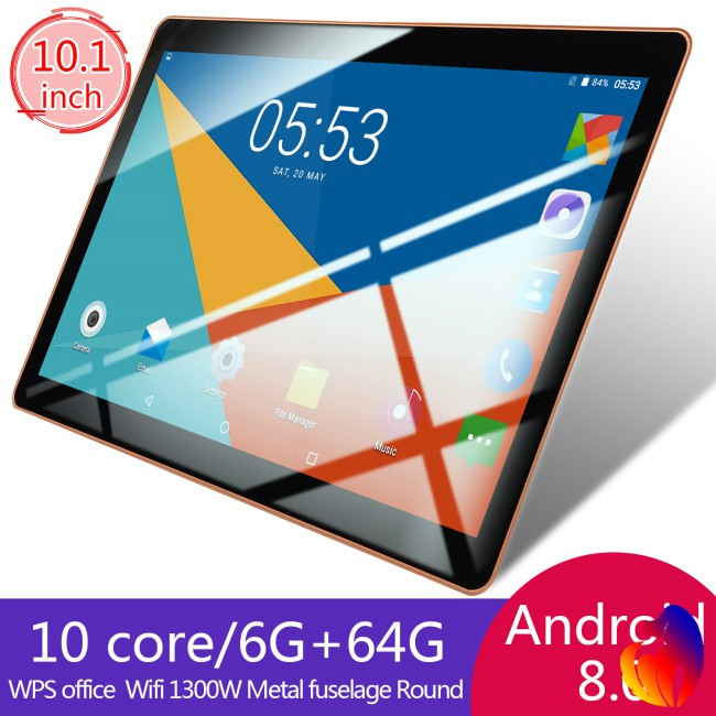 10 1 Inch HD Game Tablet Computer PC Ten Core Android 8 0 GPS 3G Wifi Dual  Camera