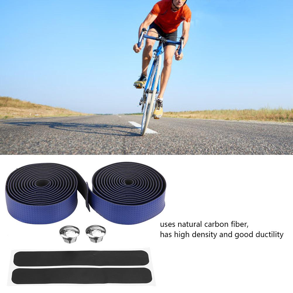 1 Pair Bicycle Handlebar Tape Light Reflective Bike Bar Tape Road Tape Wrap Surp