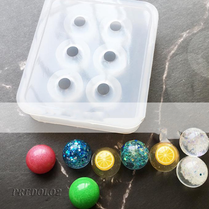 Silicone Egg Mould For DIY Resin Necklace Pendant Jewelry Making Mold Tool Craft