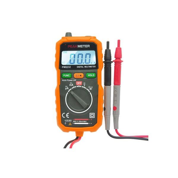 PEAKMETER MY60 Digital Multimeter AC DC Voltage Current Resistance Capacitance M | Shopee Singapore