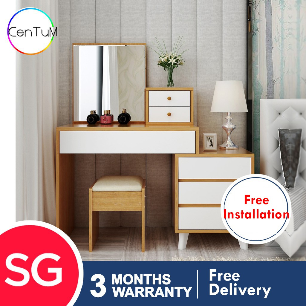 Lyh Dressing Table With Large Storage
