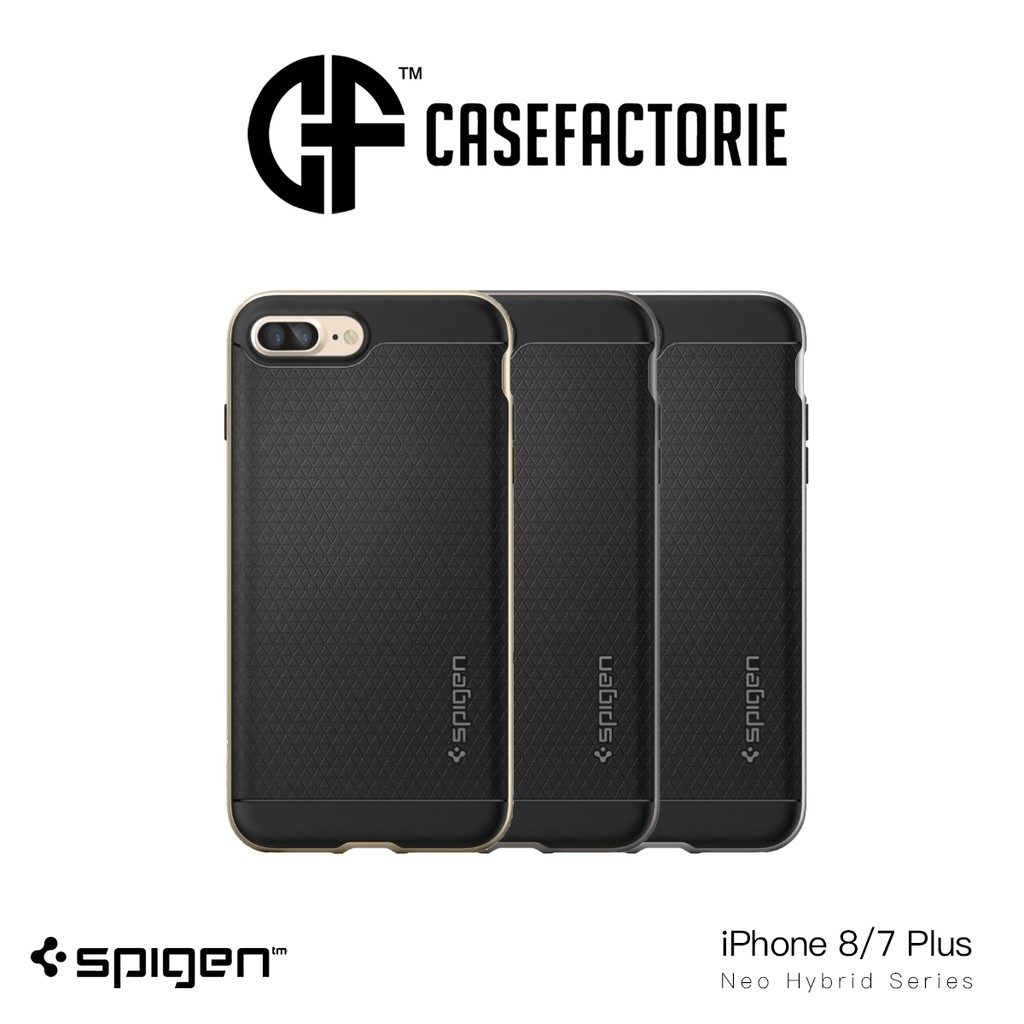Spigen Neo Hybrid Crystal Case For Samsung Galaxy S8 Plus Shopee Gun Metal Singapore