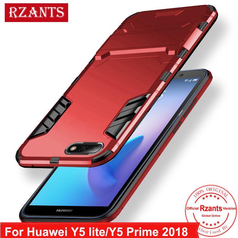 Huawei Y5 Lite/ Y5 Prime 2018 Hard Case【Built in Kickstand Armor】Slim Thin  Cover
