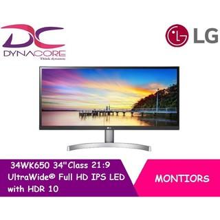 LG 34WK650W 34 Class 21 9 UltraWide Full HD IPS LED Monitor