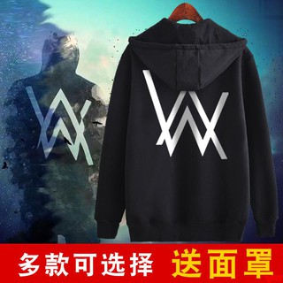 Music Faded DJ Divine Comedy Alan Walker Fade Hoodie the Same Paragraph Jacket