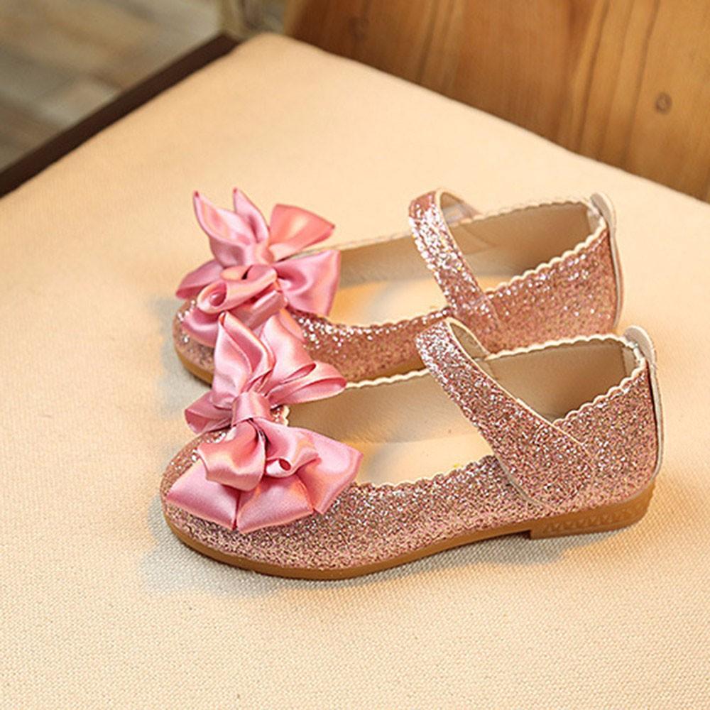 Cute Girls Baby Kids Jelly Bowknot Sandals Shoes Princess  5e18ba9ed688