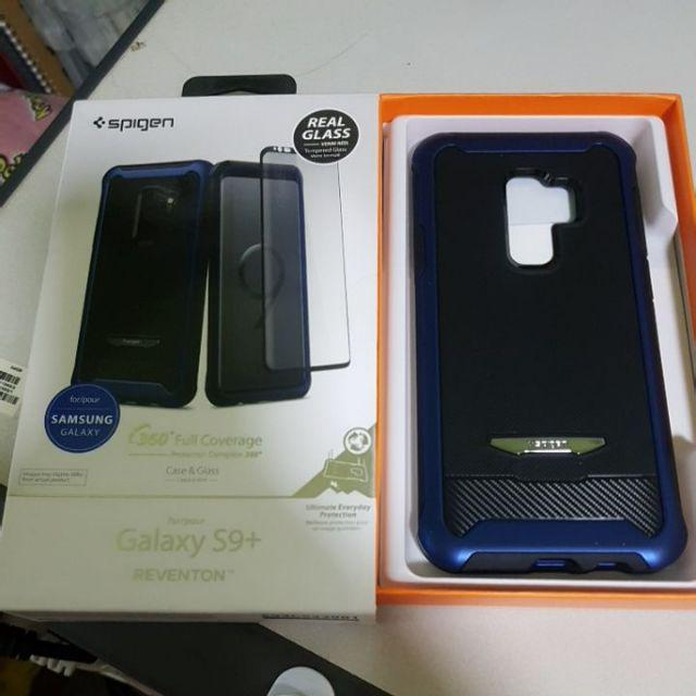 brand new 67c9a fe8ee Galaxy S9 Plus Case Reventon (Full Cover with Tempered Glass ...