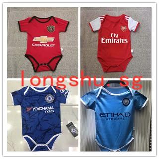 pretty nice cc571 285f6 2019 Man U city chelsea Arsenal Infant Jersey baby soccer ...