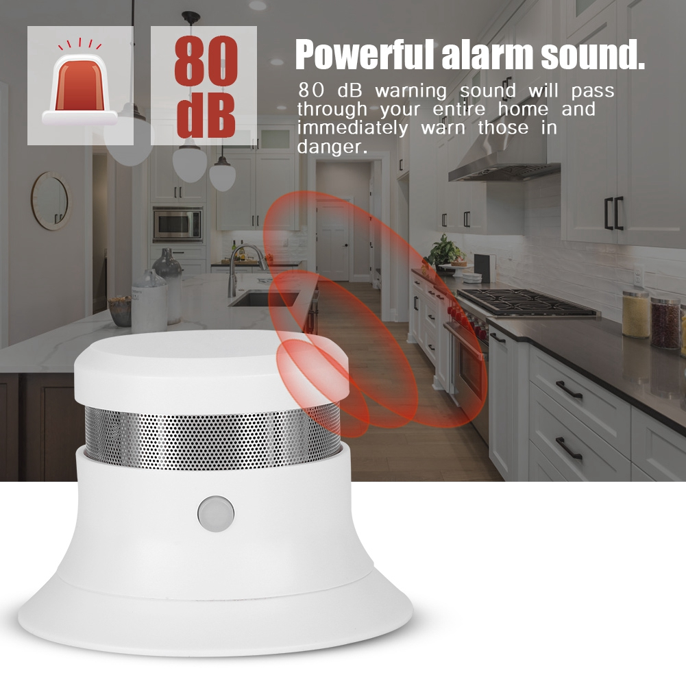 Smoke Detector Fire Protection Alarm
