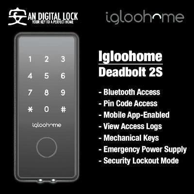 Igloohome Deadbolt 2S Smart Digital Door Lock