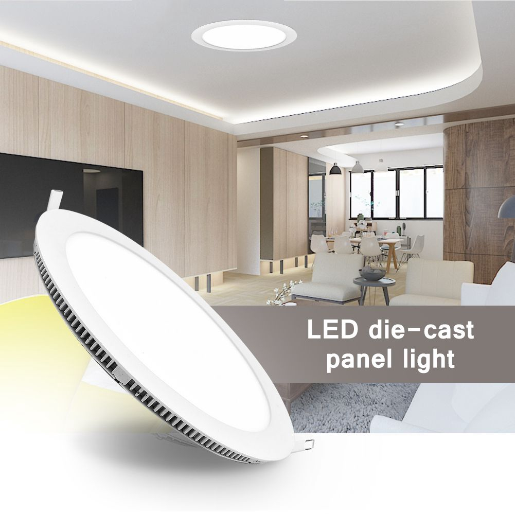 18w Led Round Recessed Ceiling Flat