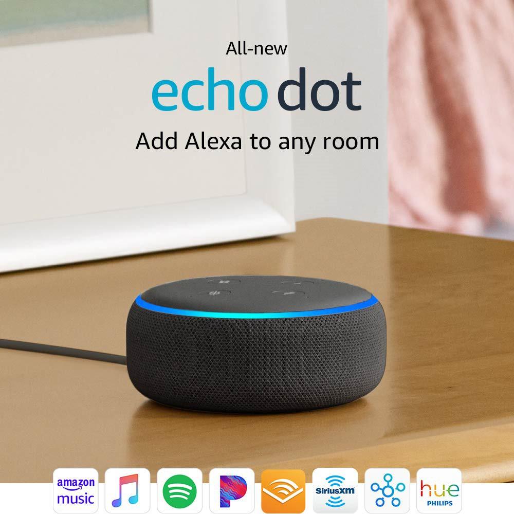 Amazon Echo Dot Generation 3 0 Alexa Voice Control Bluetooth Speaker