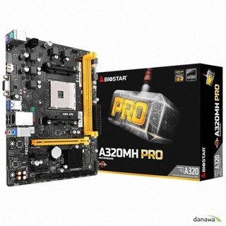 BIOSTAR RACING A320MH PRO EM Tech (AMD A320/M-ATX)