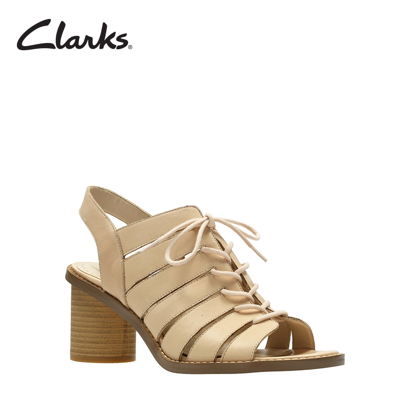 a58454e8fb2 CLARKS Adriel Wavy Pewter Leather Womens Dress Sandals Clarks Collection