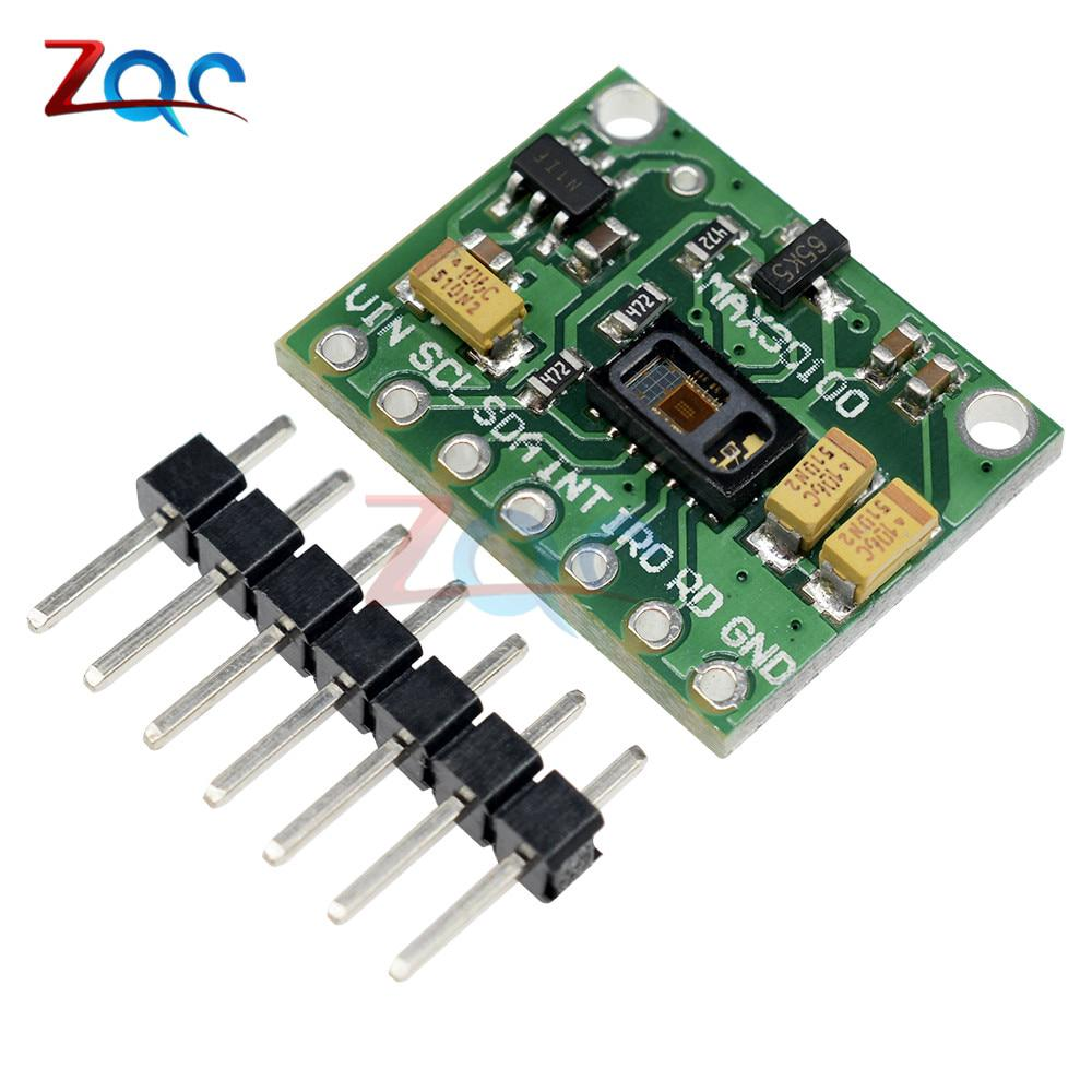 Low Power MAX30102 Heart Rate Oxygen Pulse Breakout for Arduino Replace  MAx30100