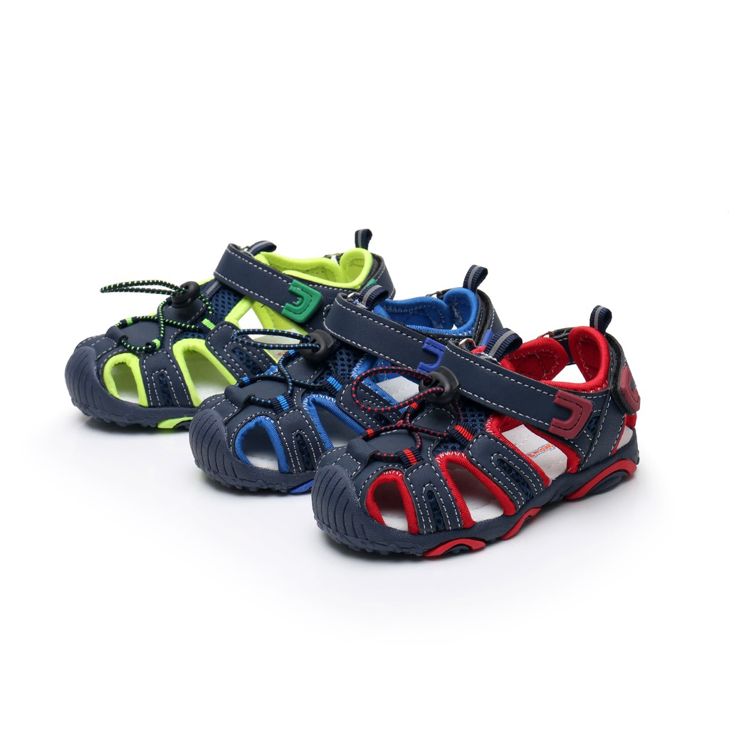 Children Shoes Boys Sandals Closed Toe Outdoor Breathable Beach Sports Sandals
