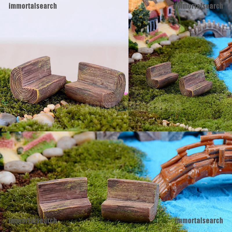Miniature Deckchair Ideal Dolls Houses or Fairy Garden 12th Scale Miniature