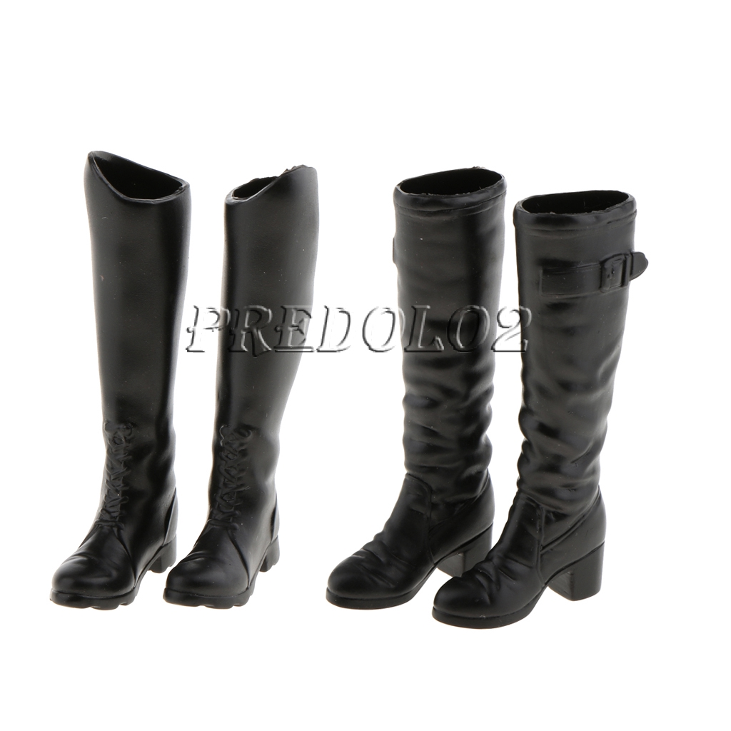 "1//6 Scale Female Boots For 12/"" Female Hot Toys Figure"