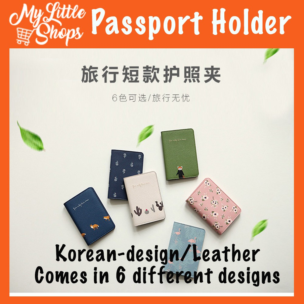 4abf3d9786c9 Leather Passport Holder