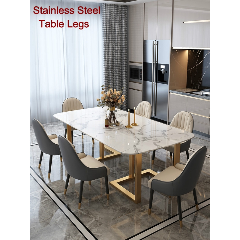 Dyh Luxury Ins Dining Table Italian, Contemporary Dining Room Furniture