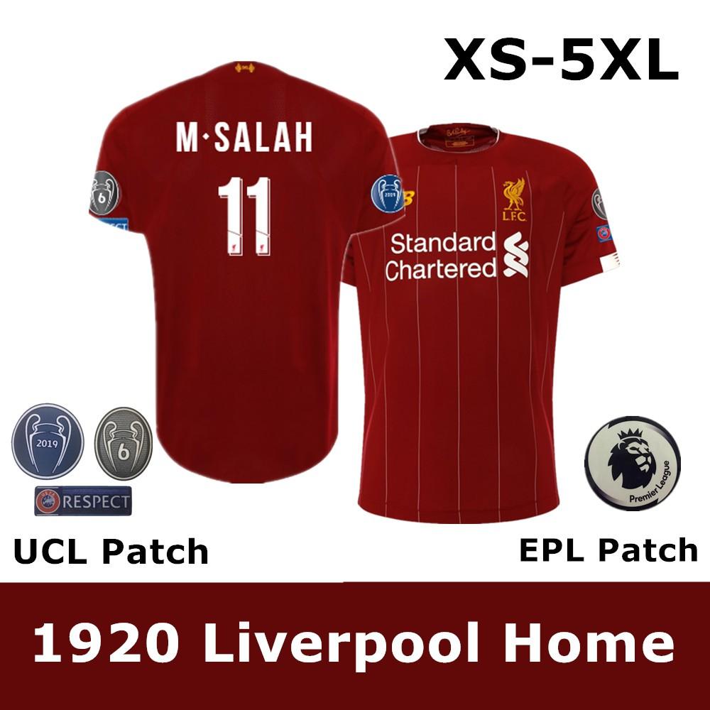 new style f28ef eca66 19/20 Top Qualtiy Liverpool Football Jersey Soccer Jersey Grade: AAA