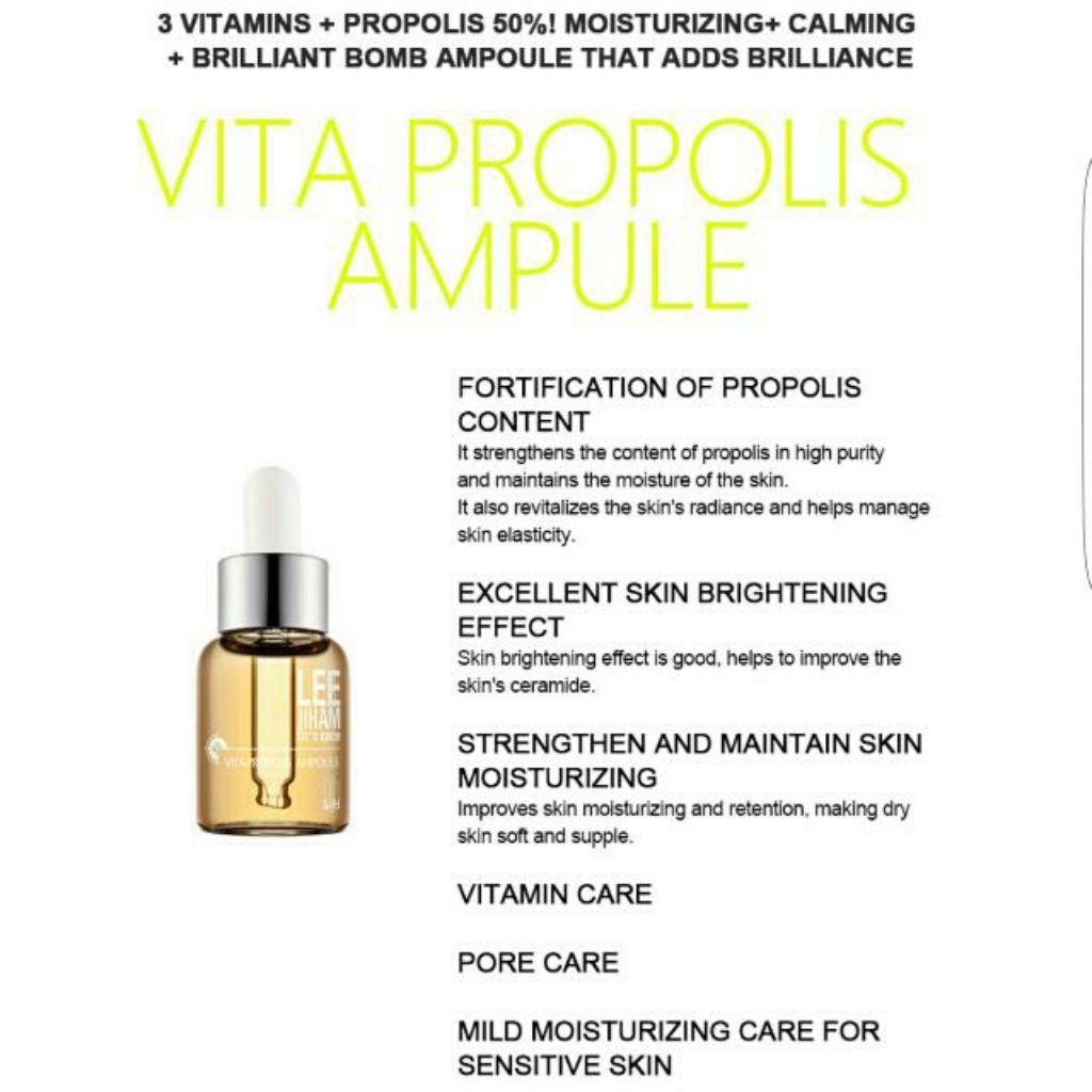 Leegeehaam Grow Vita Propolis Ampoule   Shopee Singapore