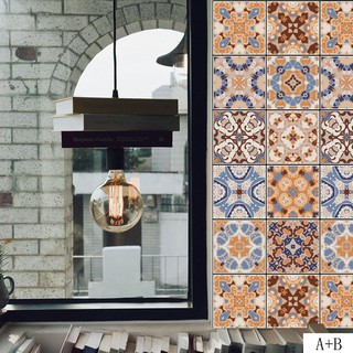 Kitchen Vintage Self Adhesive Removable Tile Sticker Pvc Sticker Diy Wall Decals