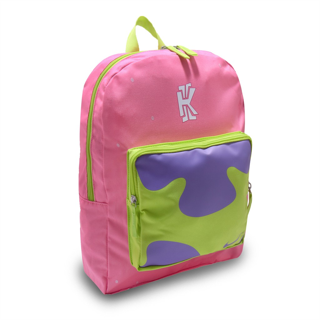 ecuación Vástago Arcaico  Nike Backpack Classic Kyrie Spongebob Pink Men And Women | Shopee Singapore