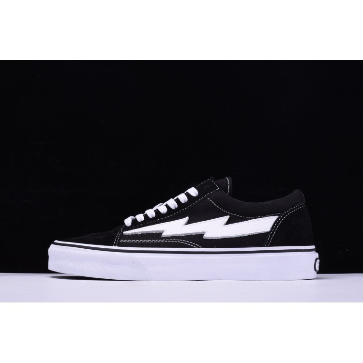 """0dccf54bf0 Vans Unisex Coutié x """"One World"""" Old Skool Canvas Shoes Black White Yellow"""