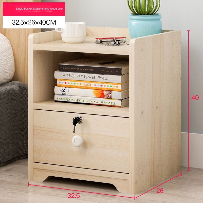 Bedside Table Simple Modern Bedroom