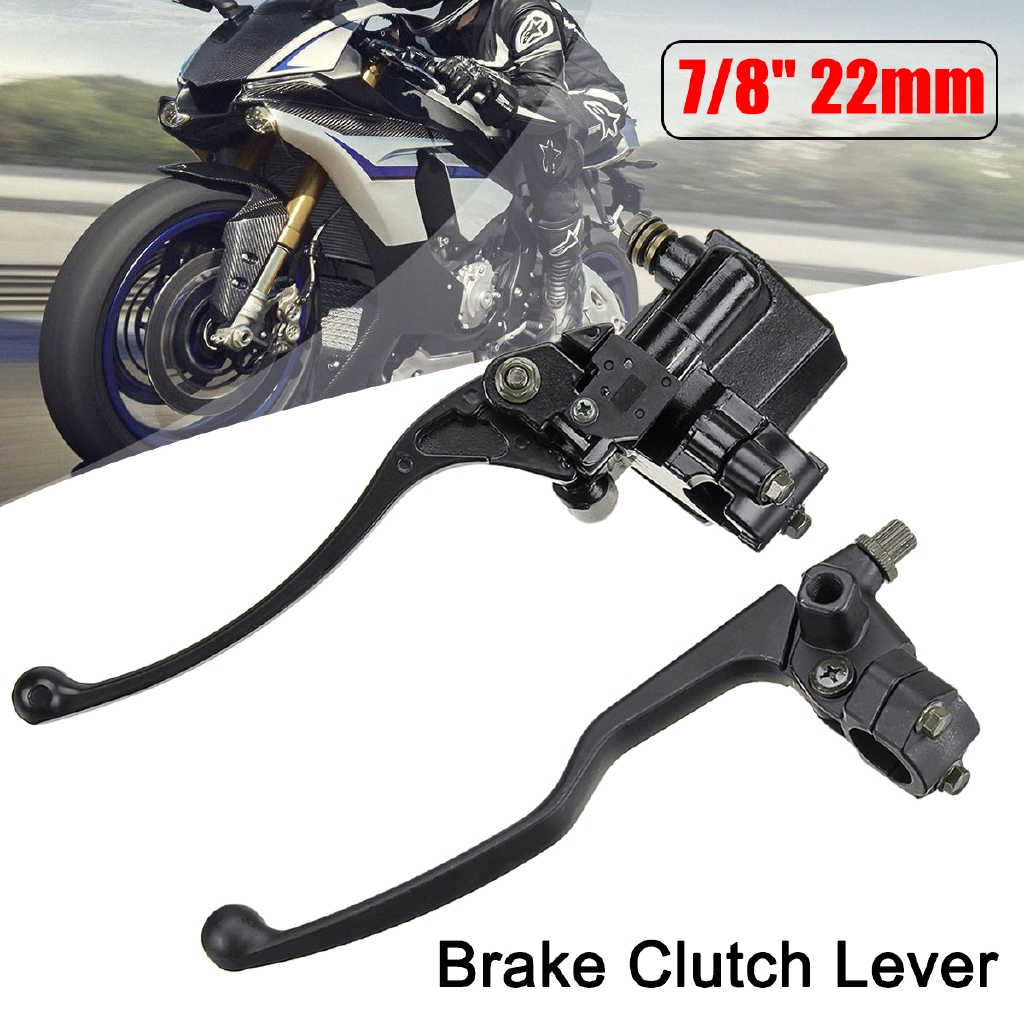 Atv Parts & Accessories Back To Search Resultsautomobiles & Motorcycles Useful New Right Side For 50cc 110cc 125cc Atv Quad Hydraulic Brake Master Cylinder Lever We Have Won Praise From Customers