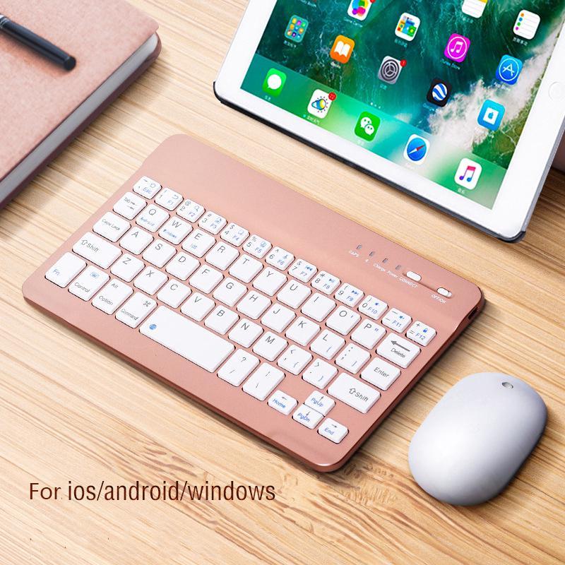Mini Bluetooth Wireless Keyboard For Mobile Phone Laptop Tablet iPad  Keyboard