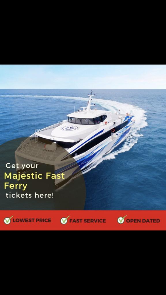 Batam Majestic Fast Ferry Shopee Singapore