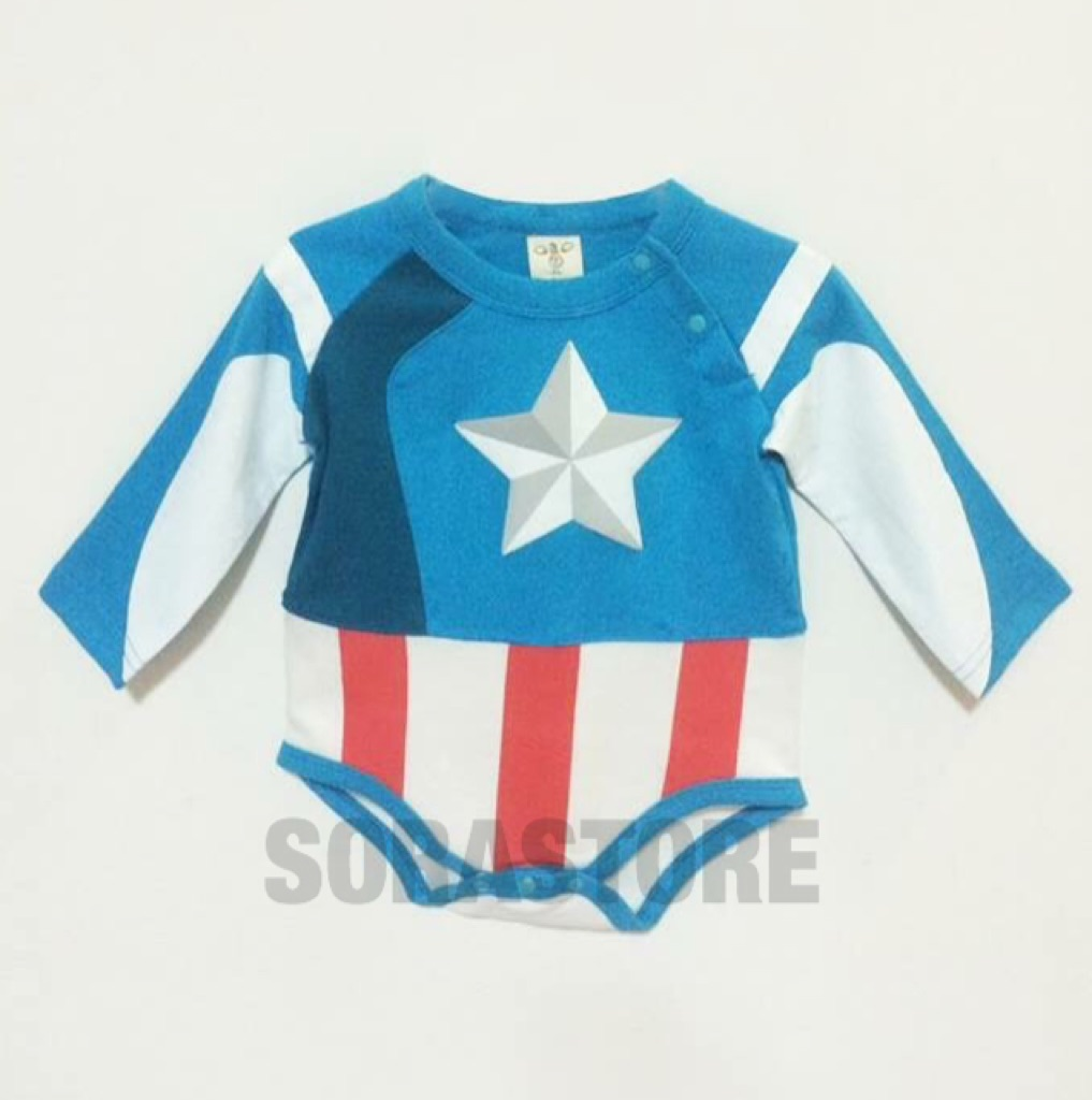 465c5b09e56 Captain America Costume - CS