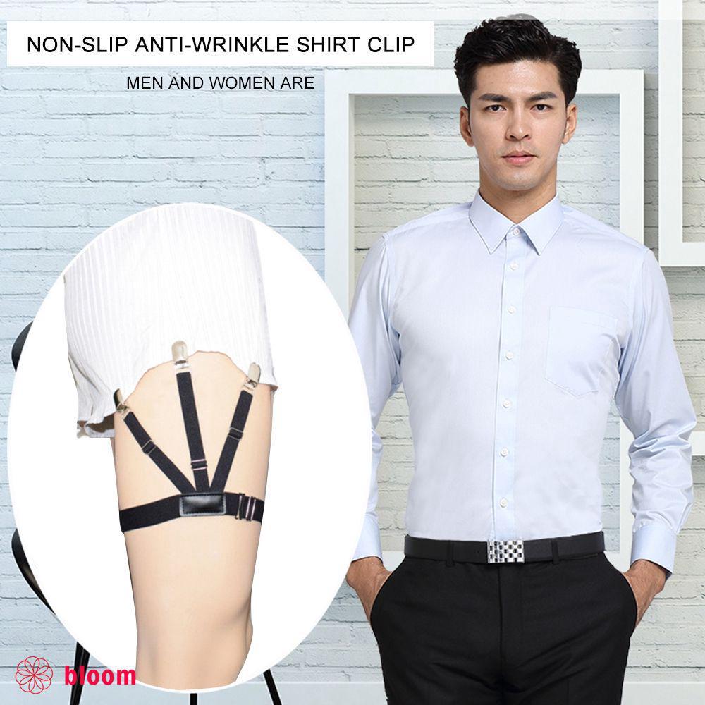 5eb409f3935  B  1 Pair Men s Shirt Stays Holders Garter Belt Suspender Locking Clamps   B