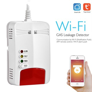 Combustible Gas Alarm Natural Wifi Gas Leak Standalone