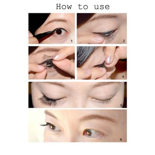 a3f4a8a786c product image. SKONHED 4 Pcs Magnetic Lashes False Eyelashes Full Coverage  Extension Tools
