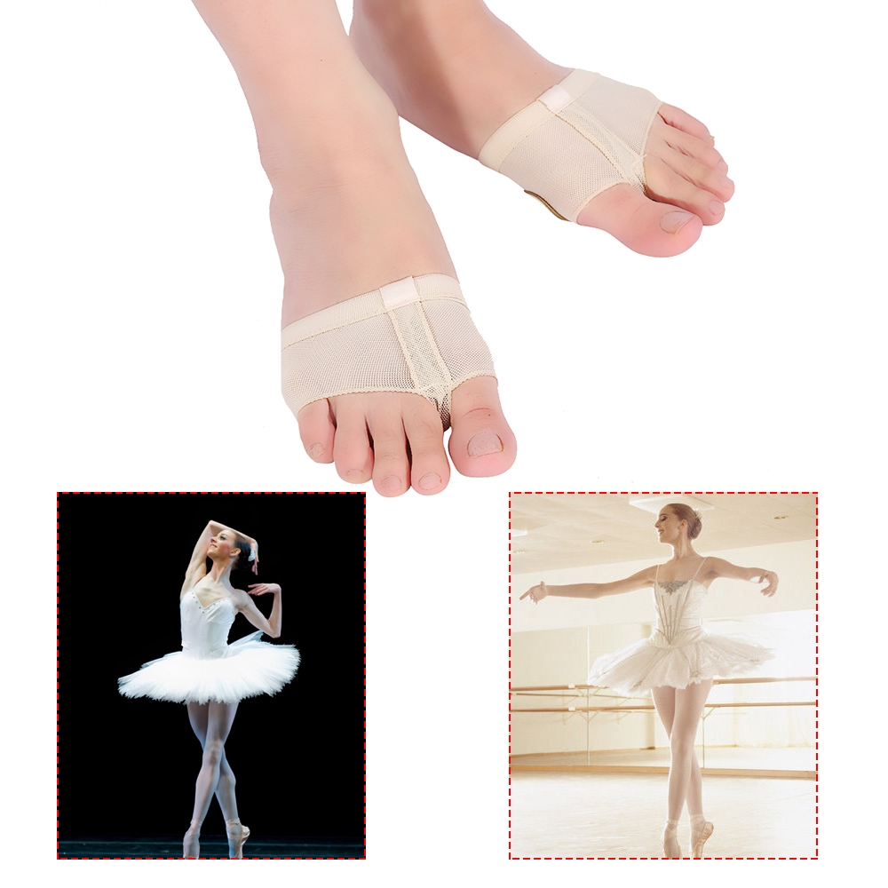 Ballet Belly Dancing Keenso Dance Paw Pads Lyrical Ballet Belly Non-Slip Dance Foot Thongs Half Sole Dance Paw Pad Shoes Fitness Accessory for Jazz Modern