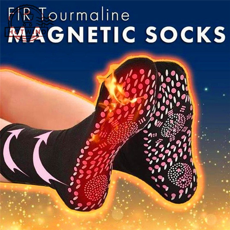 HW Self-Heating Socks Tourmaline Magnetic Therapy Comfortable Foot Care  Socks