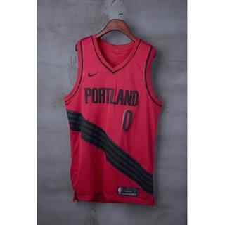 timeless design 964c1 333c4 Portland Trail Blazers #0 Damian Lillard City Edition Jersey