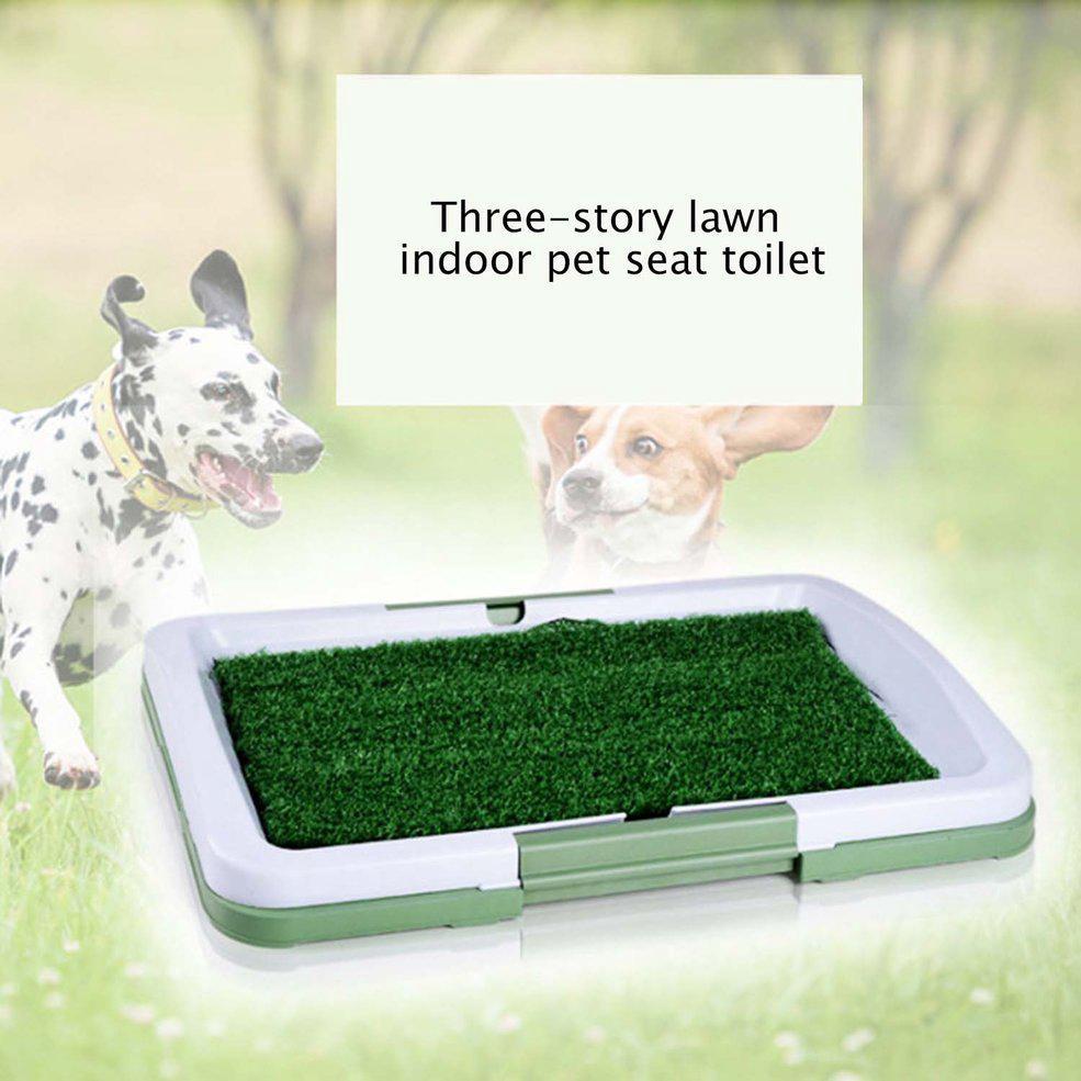 NEW•3 Layers Large Dog Pet Potty Training Pee Pad Mat Puppy