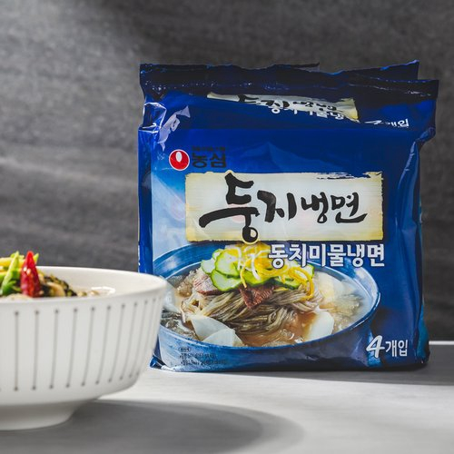 NONGSHIM] Doongji Cold Noodles with Chilled Broth 4ea | Shopee Singapore