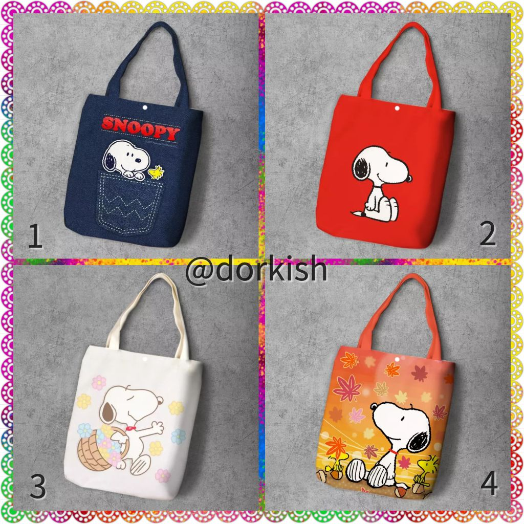 Peanuts Snoopy Woodstock Purse Bag Handbag