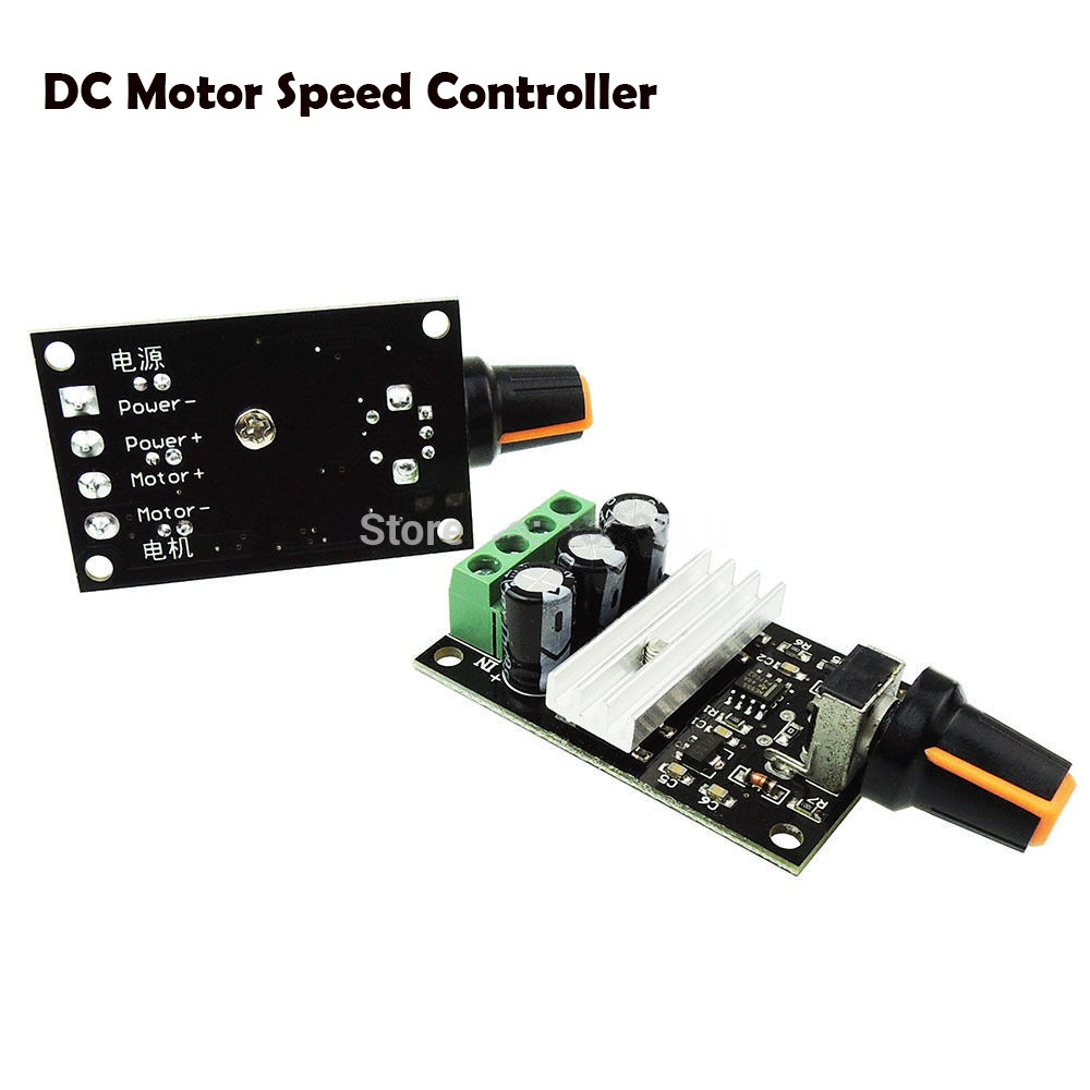 Dc 12 24v 8a Durable Single Color Led Switch Dimmer Control Manual Motor Controller By Sg3525 Adjustable Shopee Singapore