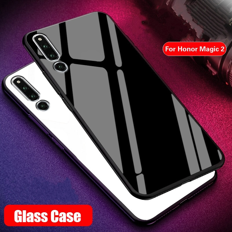 Huawei Honor Magic 2 Tempered Glass Back Cover TPU Frame Hybrid Perfect Case | Shopee Singapore