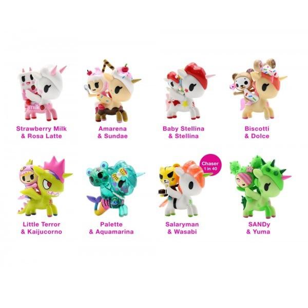 Tokidoki Unicorno /& Friends 3-Inch Mini-Figure Baby Stellina /& Stellina
