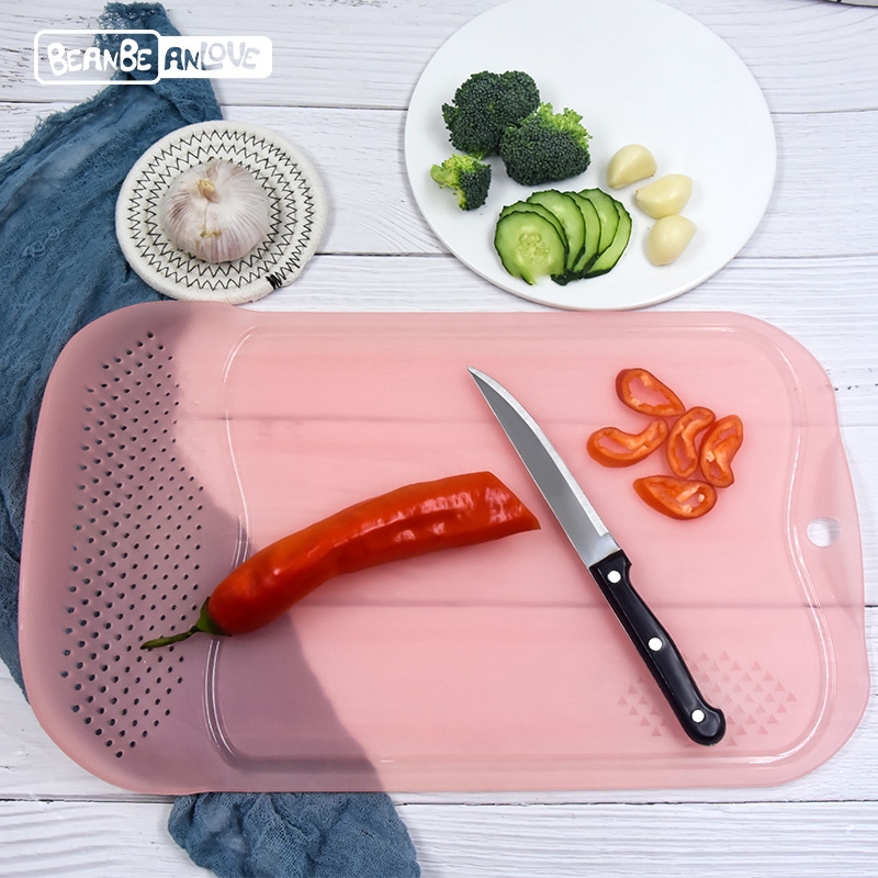 creative multifunction chopping board rectangle pp plastic cutting ...