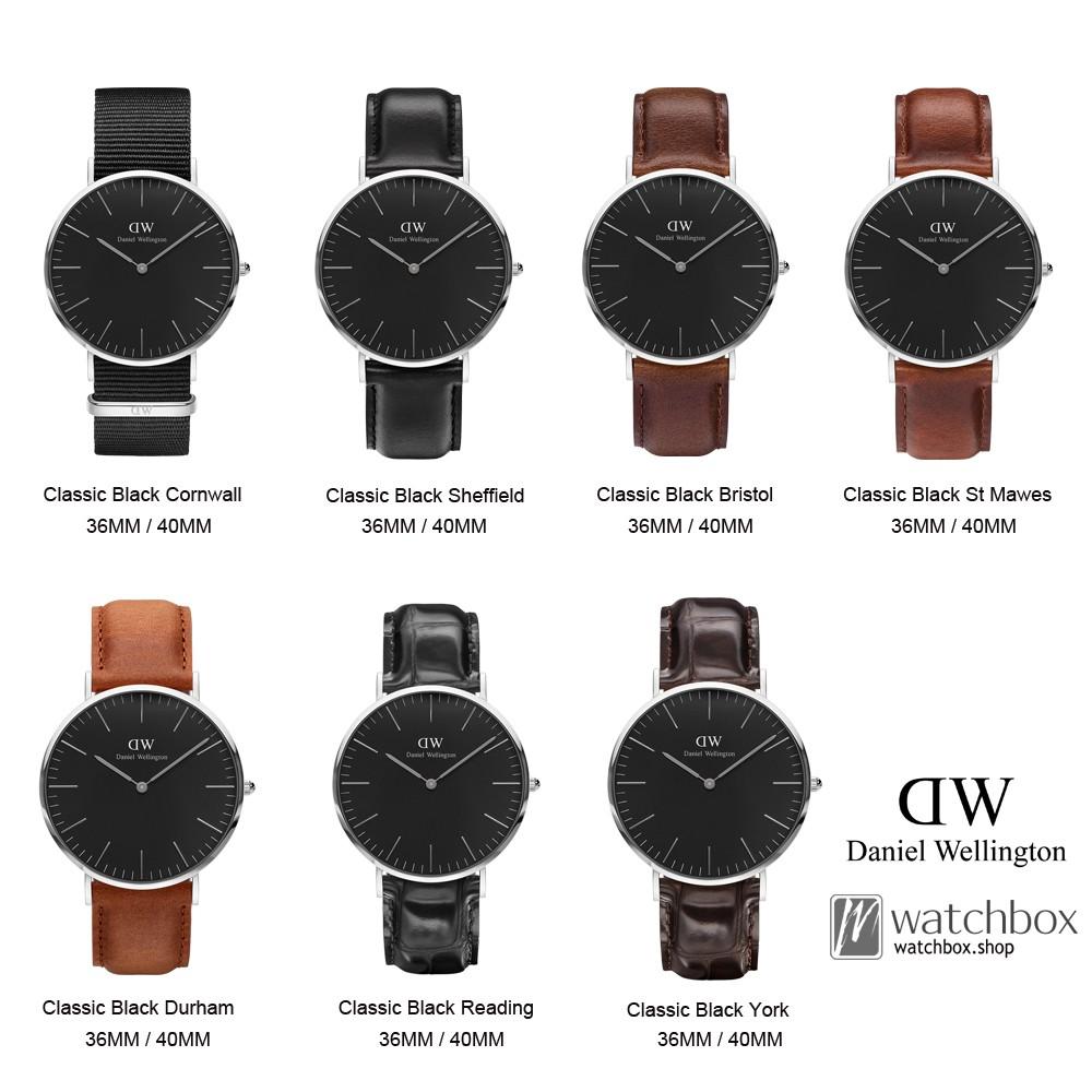 Original Daniel Wellington Watches DW Classic Black Gold | Shopee Singapore