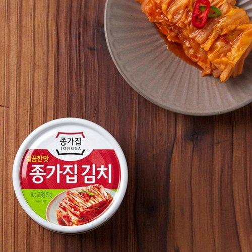 JONGGA] Canned Kimchi Clean Flavor 160g   Shopee Singapore