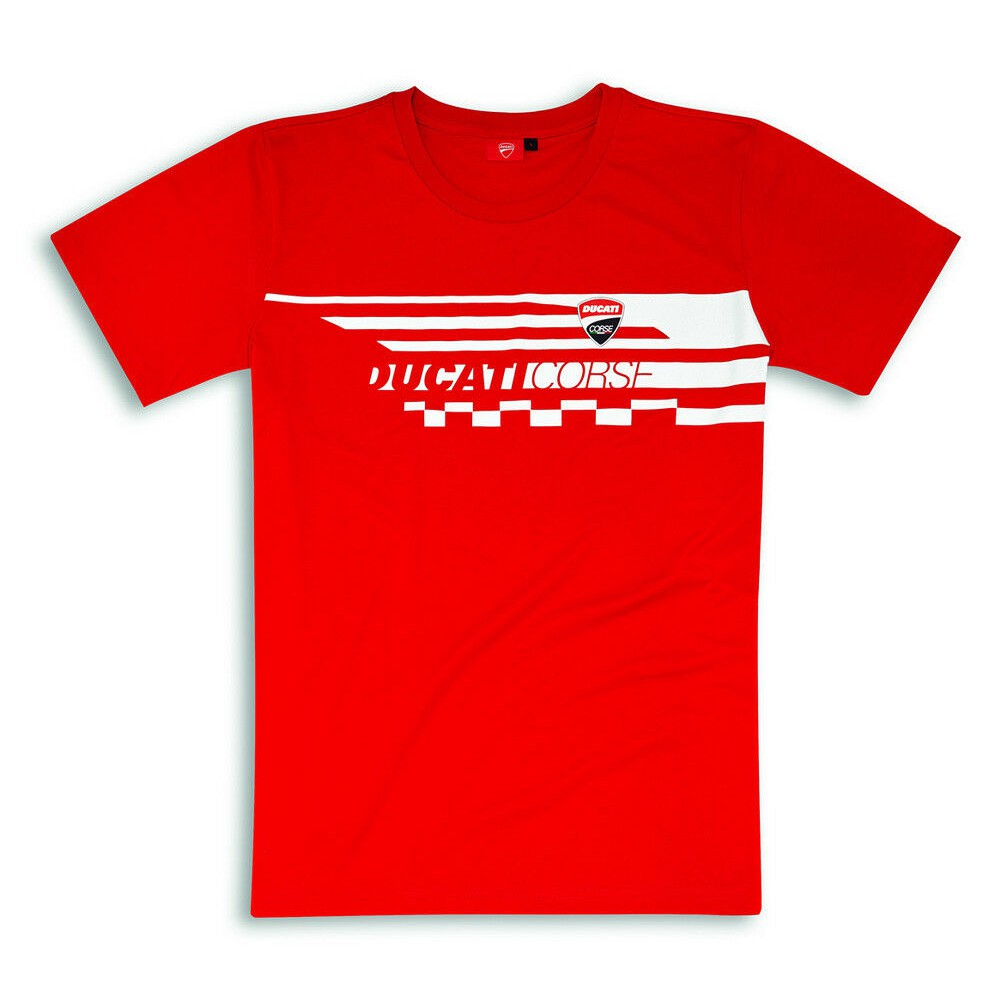 2018 Ducati Corse Team MotoGP Mens Claw T-Shirt Black with Red Logo Sizes S-XXL